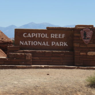 At Capitol Reef